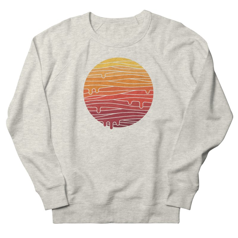 Heat Wave Men's French Terry Sweatshirt by thepapercrane's shop