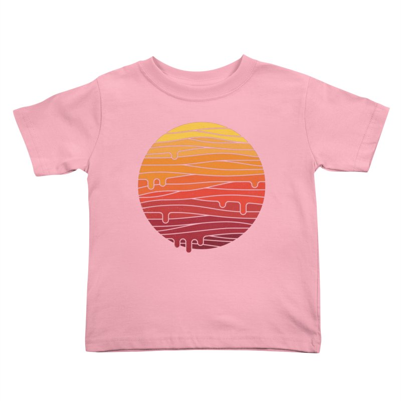 Heat Wave Kids Toddler T-Shirt by thepapercrane's shop