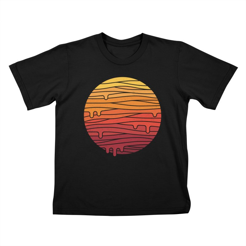Heat Wave Kids T-Shirt by thepapercrane's shop