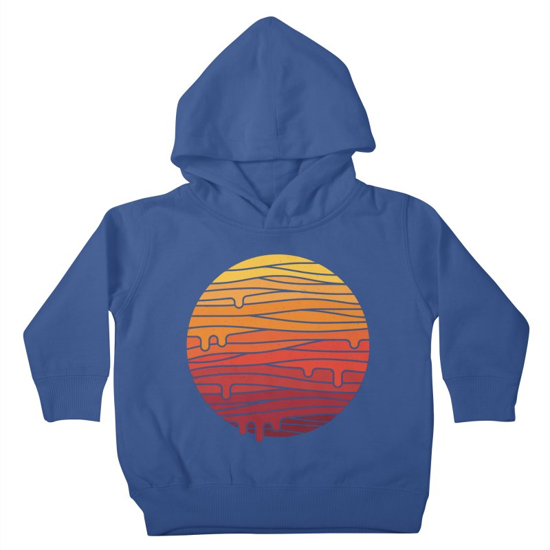 Heat Wave Kids Toddler Pullover Hoody by thepapercrane's shop