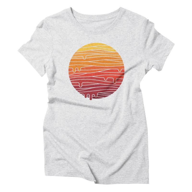 Heat Wave Women's Triblend T-Shirt by thepapercrane's shop