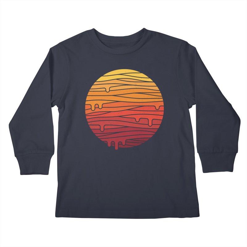 Heat Wave Kids Longsleeve T-Shirt by thepapercrane's shop