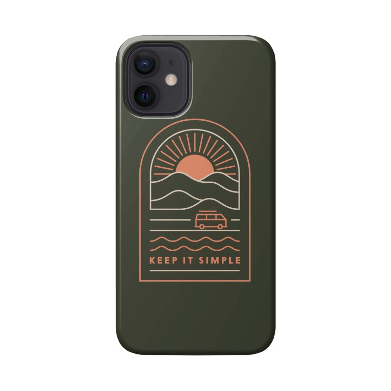 Keep It Simple Accessories Phone Case by thepapercrane's shop