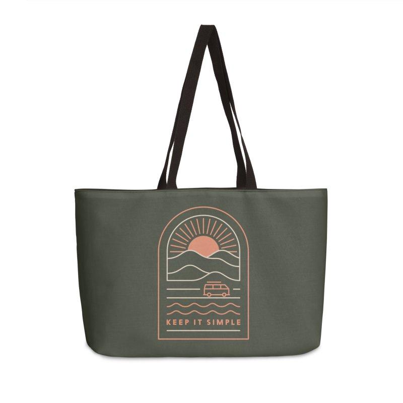 Keep It Simple Accessories Weekender Bag Bag by thepapercrane's shop