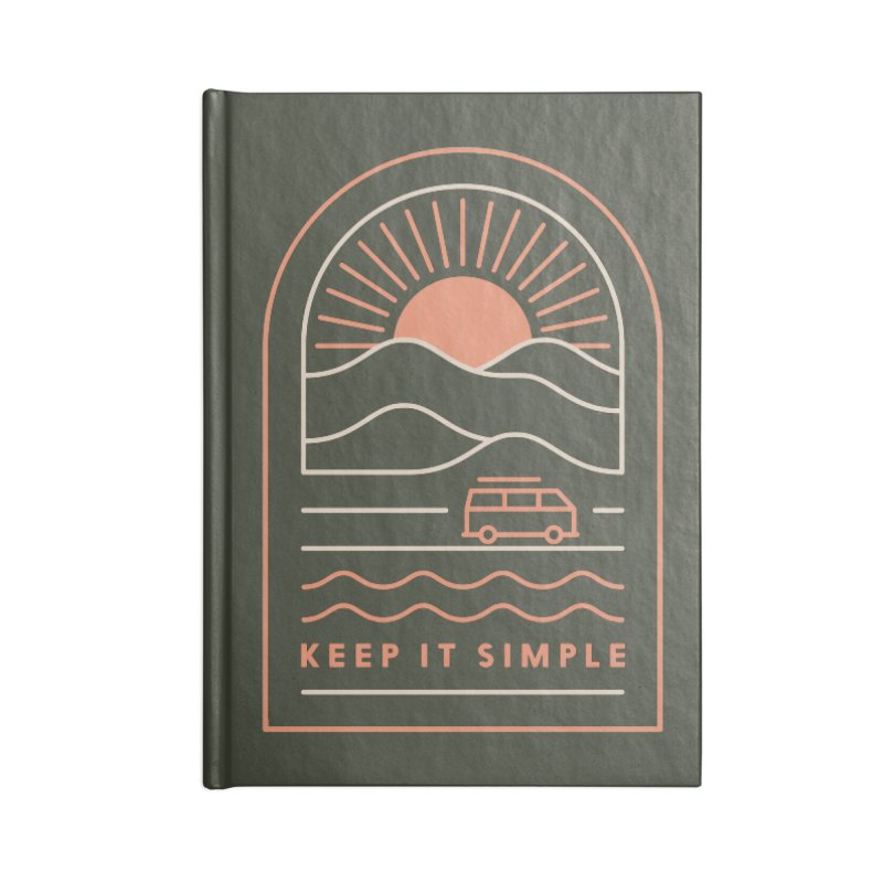 Keep It Simple Accessories Lined Journal Notebook by thepapercrane's shop