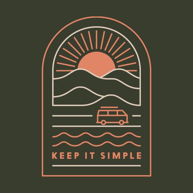 Keep It Simple Kids Longsleeve T-Shirt by thepapercrane's shop