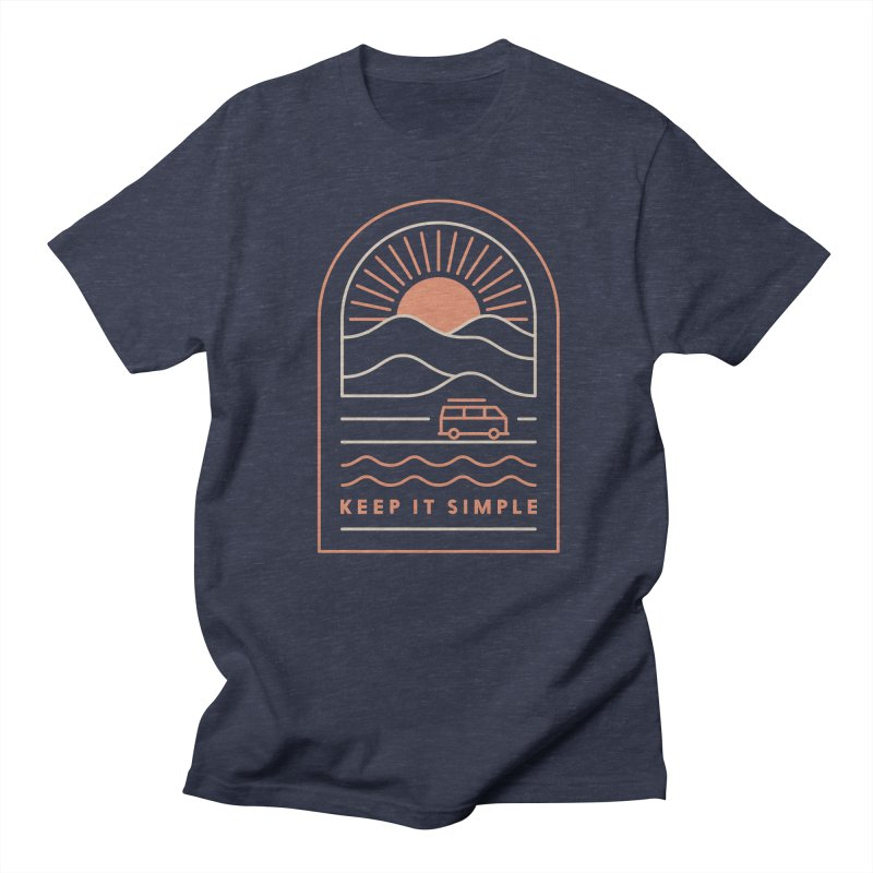 Keep It Simple Women's Regular Unisex T-Shirt by thepapercrane's shop