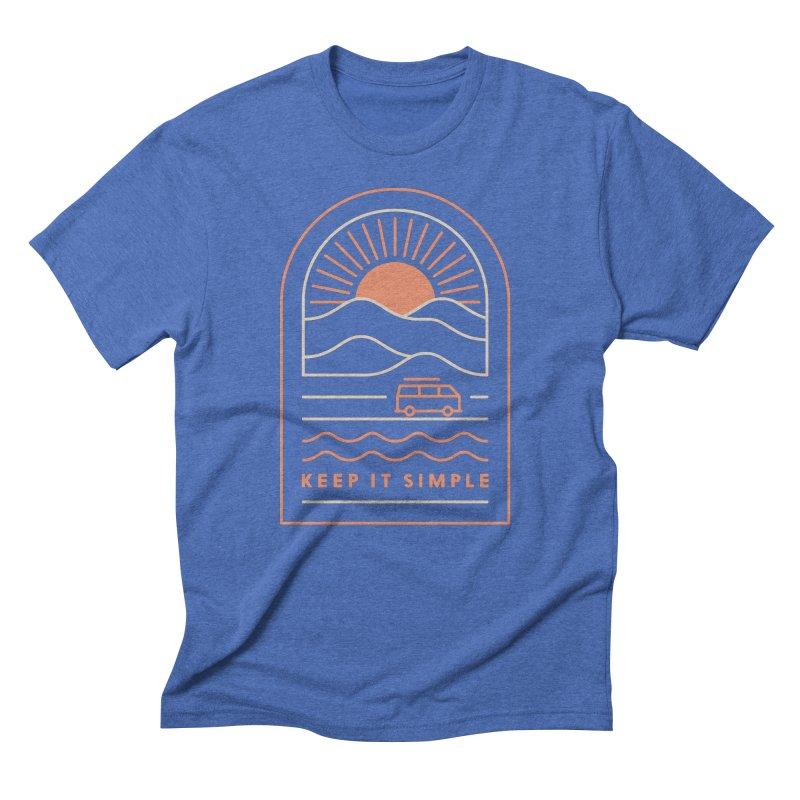 Keep It Simple Men's T-Shirt by thepapercrane's shop