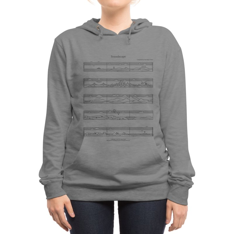 Soundscape Women's Pullover Hoody by thepapercrane's shop