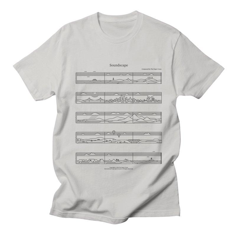 Soundscape Women's Regular Unisex T-Shirt by thepapercrane's shop