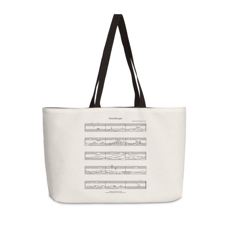 Soundscape Accessories Weekender Bag Bag by thepapercrane's shop