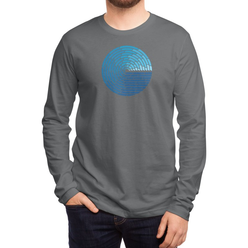 Almighty Ocean Men's Longsleeve T-Shirt by thepapercrane's shop