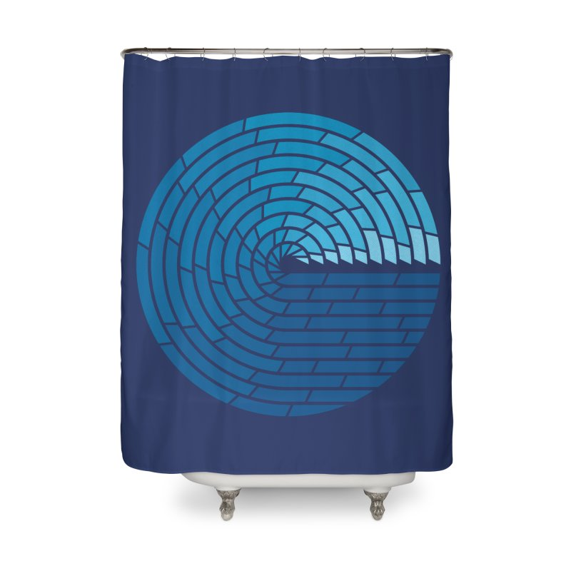 Almighty Ocean Home Shower Curtain by thepapercrane's shop
