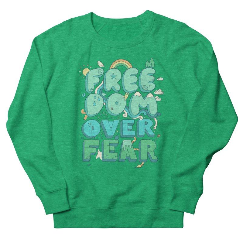 Freedom Over Fear   by thepapercrane's shop