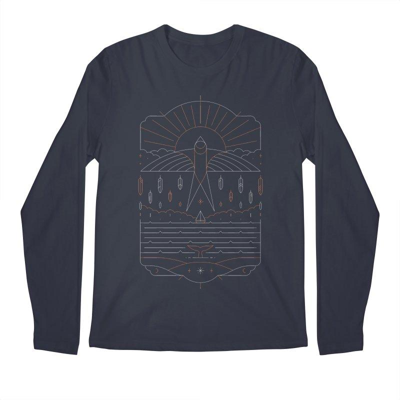 The Navigator Men's Longsleeve T-Shirt by thepapercrane's shop
