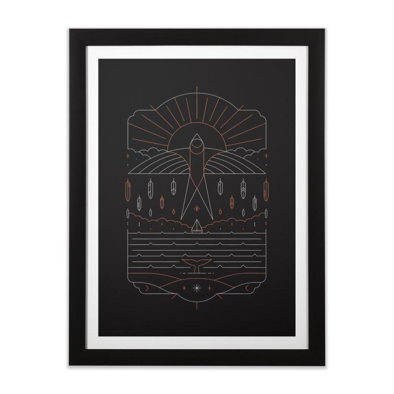 The Navigator Home Framed Fine Art Print by thepapercrane's shop
