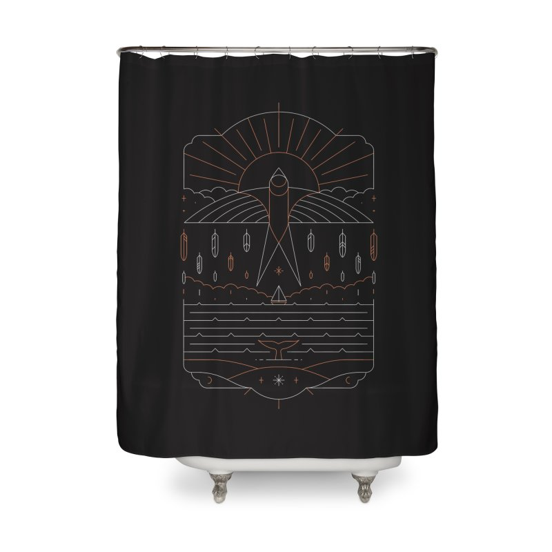 The Navigator Home Shower Curtain by thepapercrane's shop