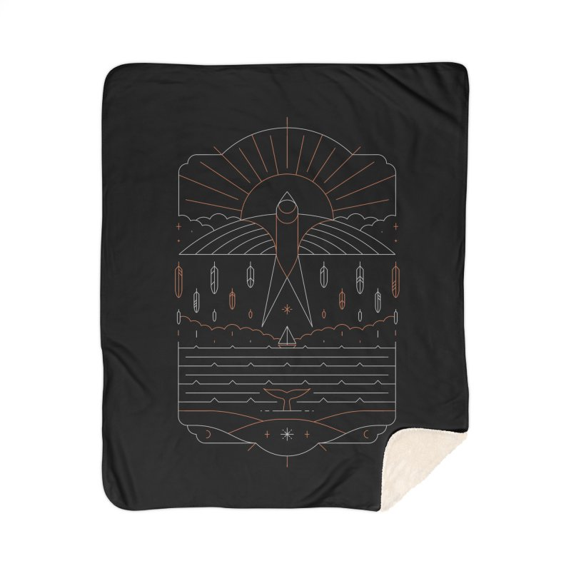 The Navigator Home Blanket by thepapercrane's shop