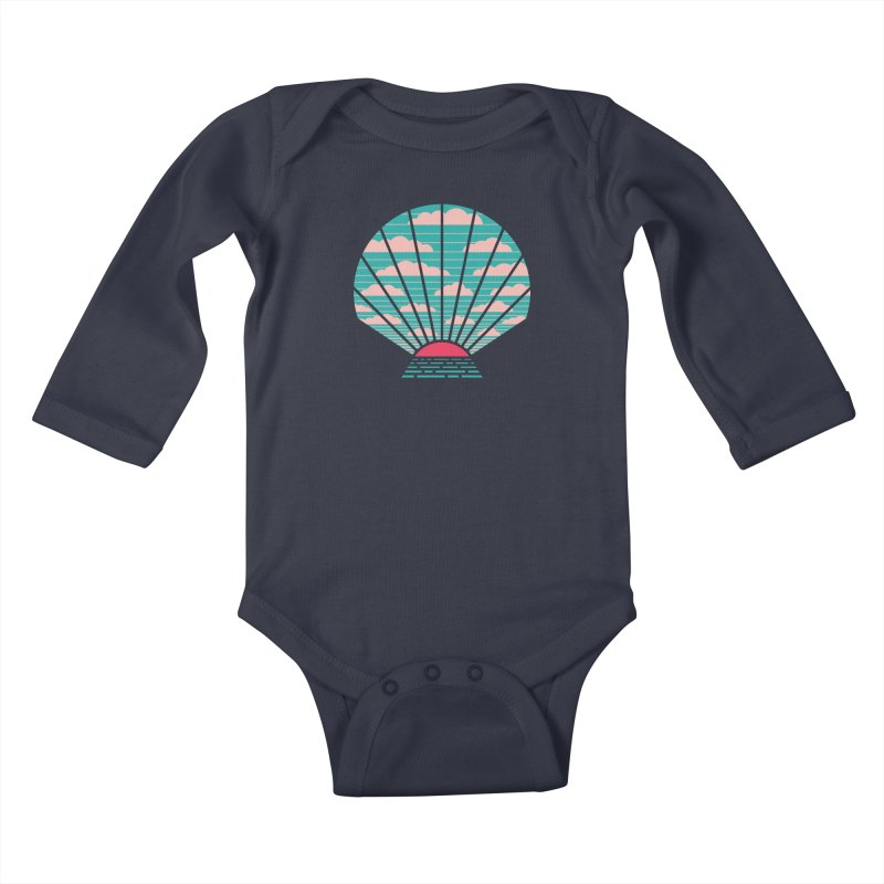 The Birth of Day Kids Baby Longsleeve Bodysuit by thepapercrane's shop