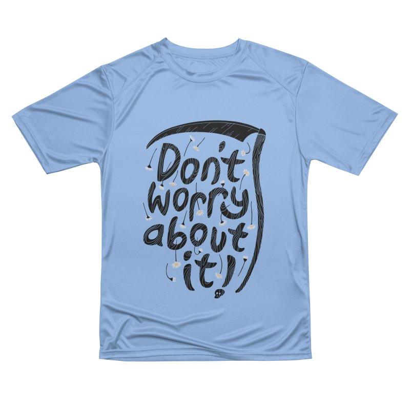 Don't Worry About It Men's T-Shirt by thepapercrane's shop