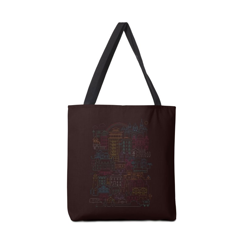 Home Sweet Home Accessories Bag by thepapercrane's shop