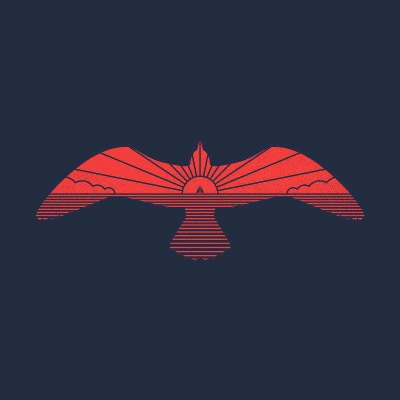 Larus Marinus None  by thepapercrane's shop