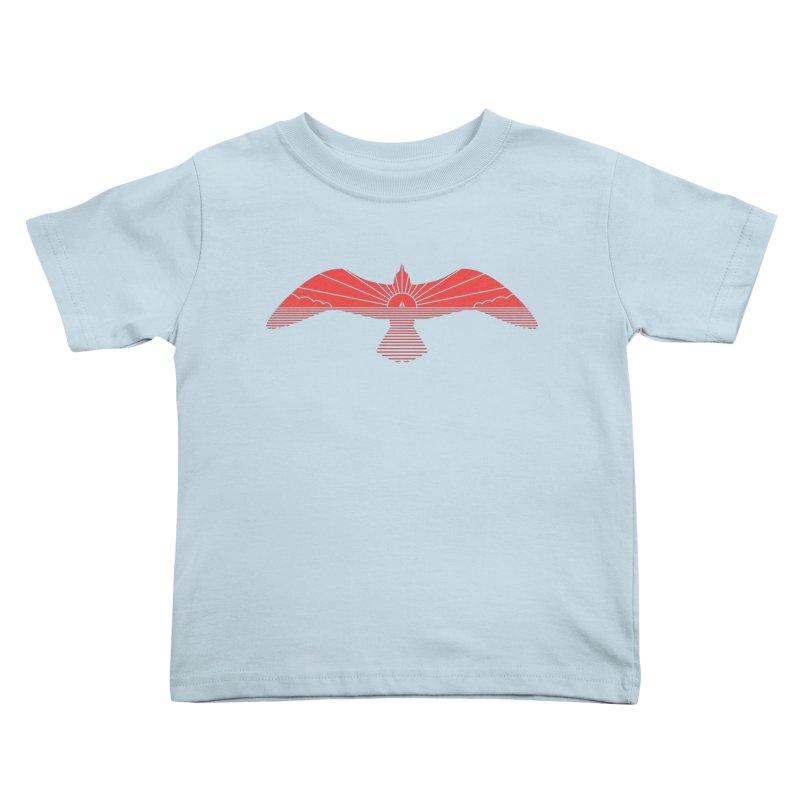 Larus Marinus Kids Toddler T-Shirt by thepapercrane's shop