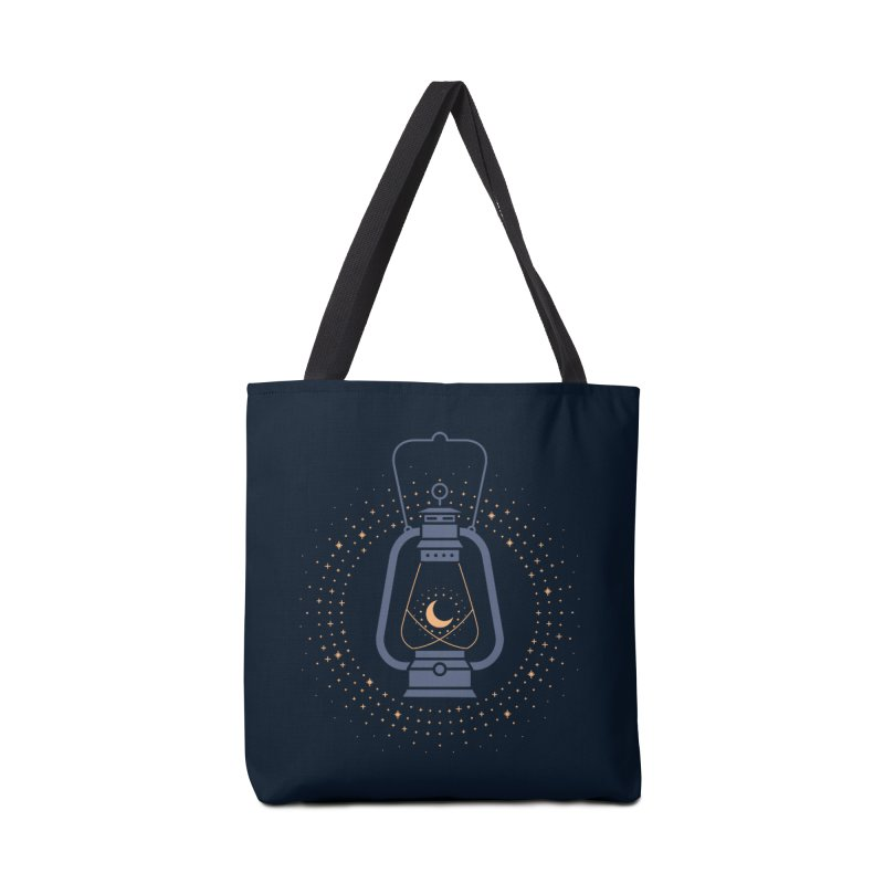 Burning The Midnight Oil Accessories Bag by thepapercrane's shop