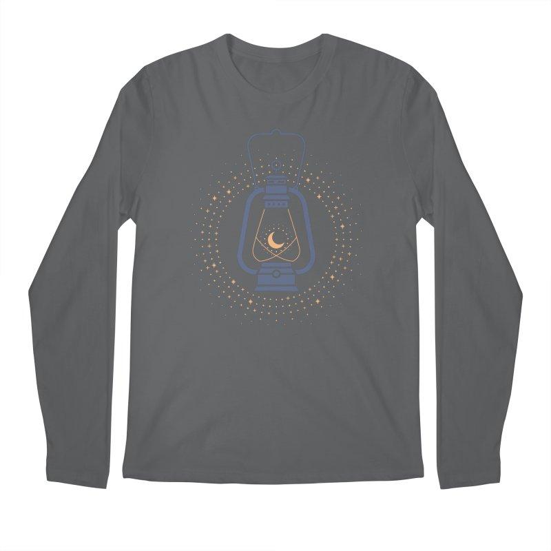 Burning The Midnight Oil Men's Longsleeve T-Shirt by thepapercrane's shop