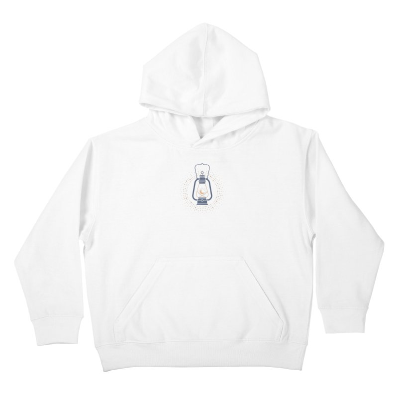 Burning The Midnight Oil Kids Pullover Hoody by thepapercrane's shop
