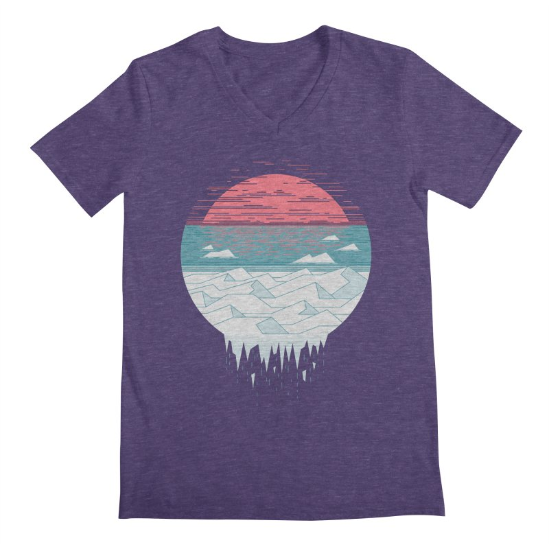 The Great Thaw Men's V-Neck by thepapercrane's shop