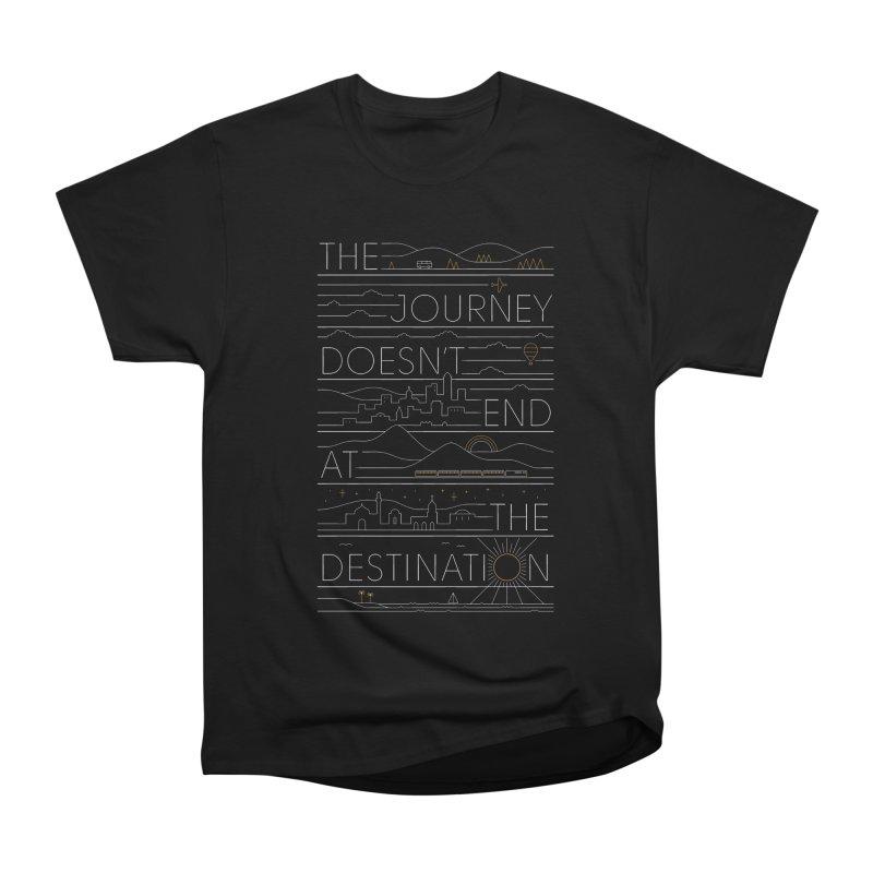 The Journey Men's T-Shirt by thepapercrane's shop