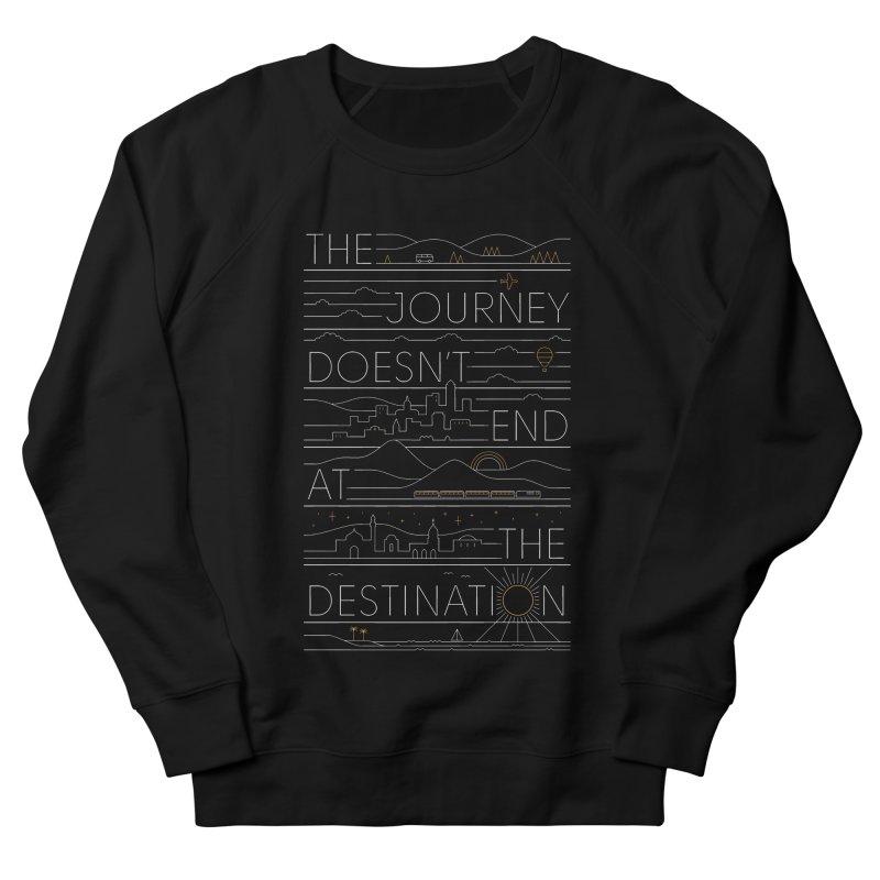 The Journey Men's Sweatshirt by thepapercrane's shop