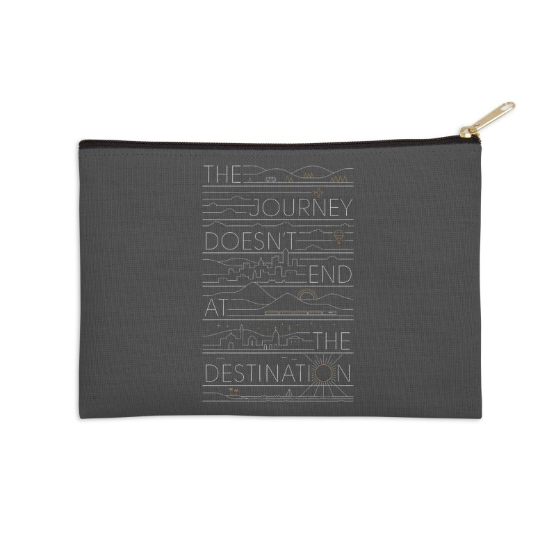 The Journey Accessories Zip Pouch by thepapercrane's shop