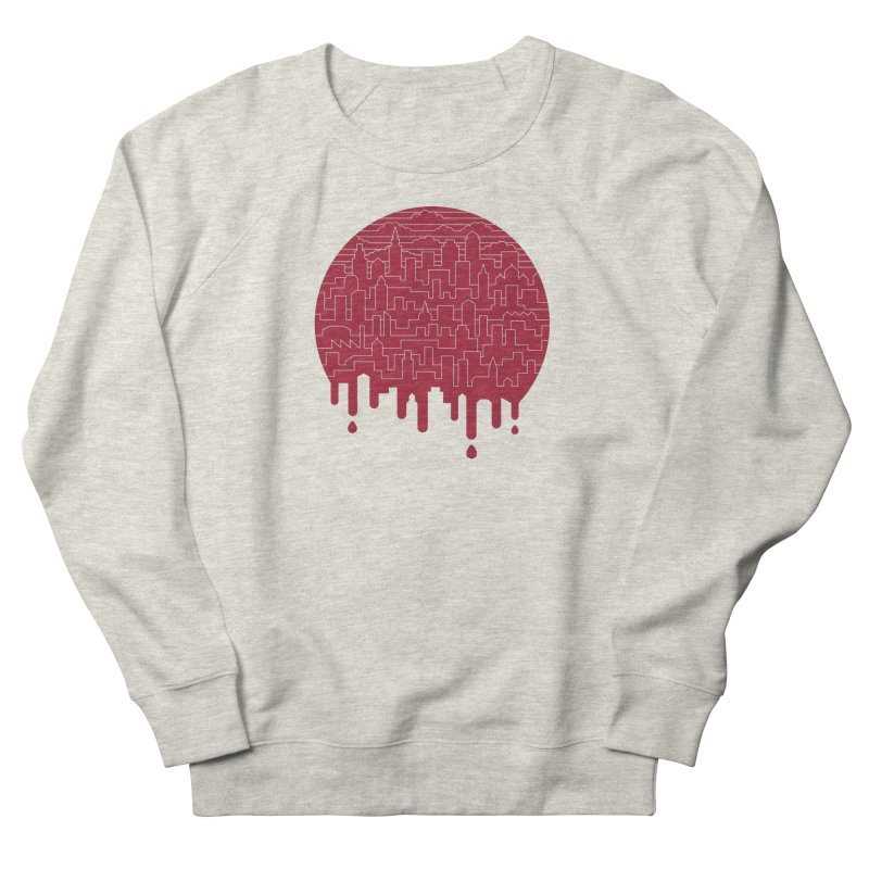 Painted Red Women's Sweatshirt by thepapercrane's shop