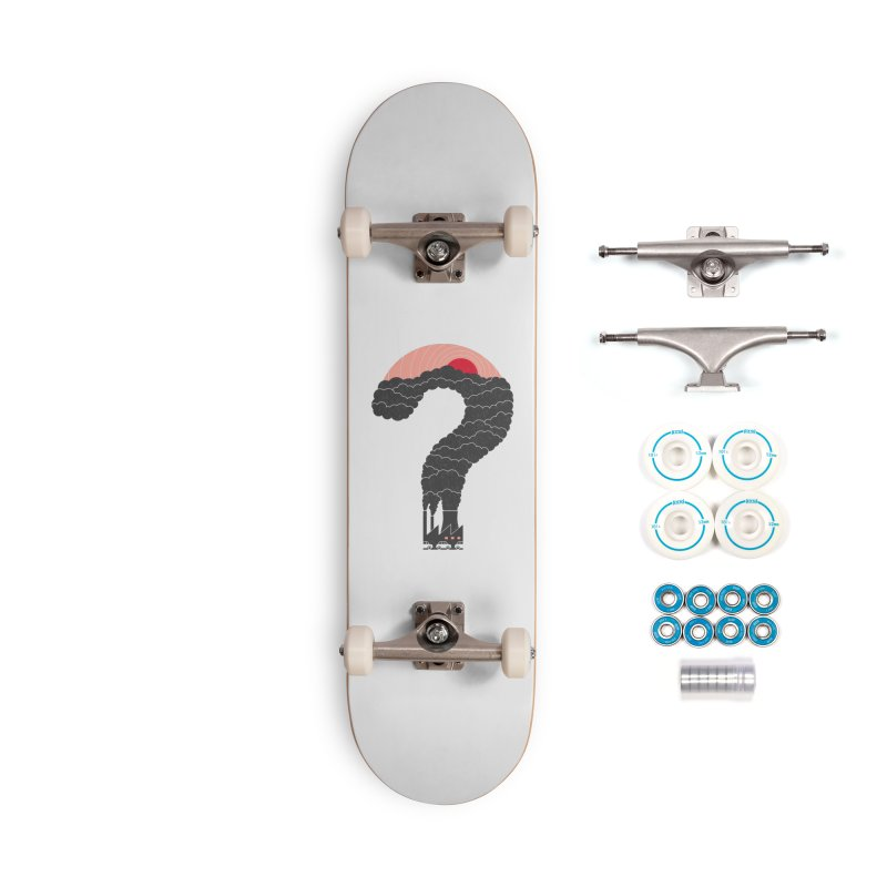 Why? Accessories Skateboard by thepapercrane's shop