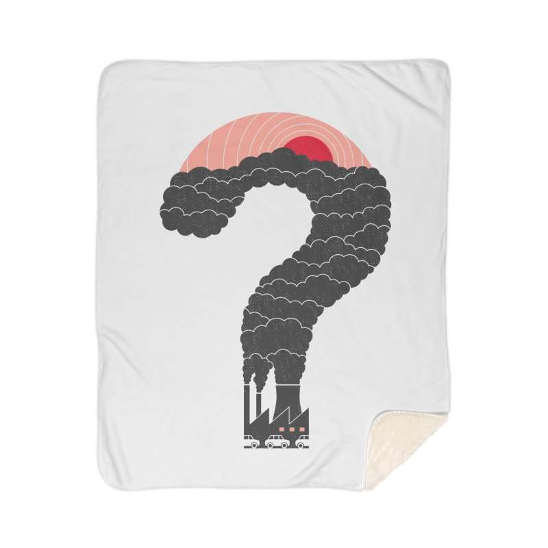 Why? Home Blanket by thepapercrane's shop