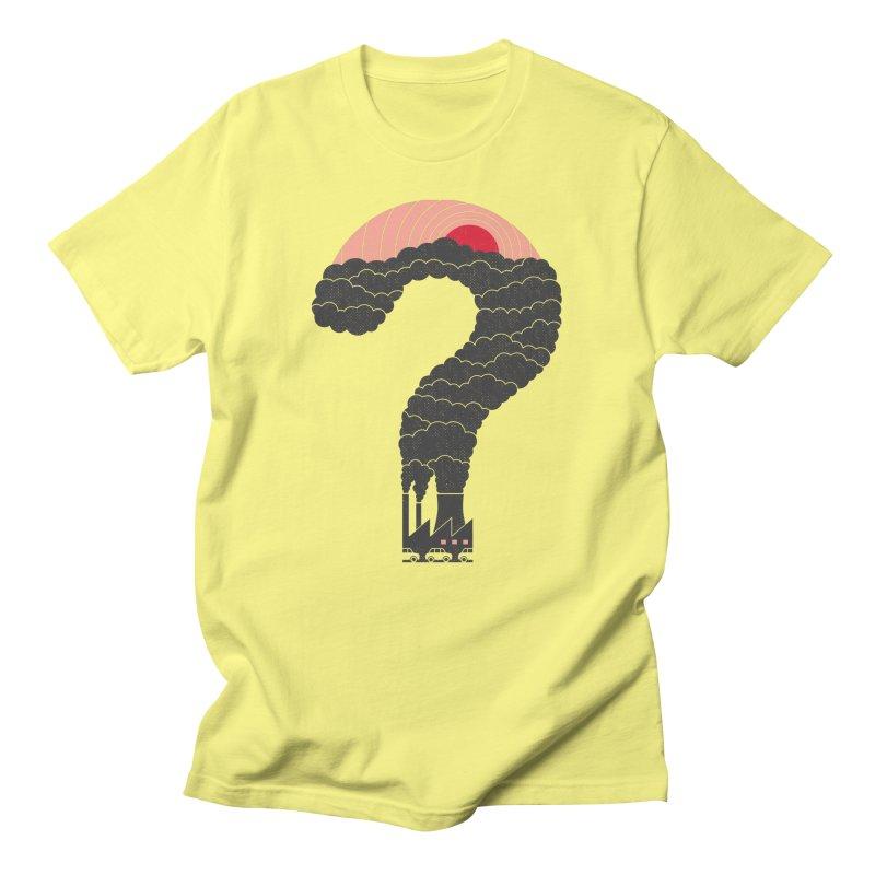 Why? Men's T-Shirt by thepapercrane's shop