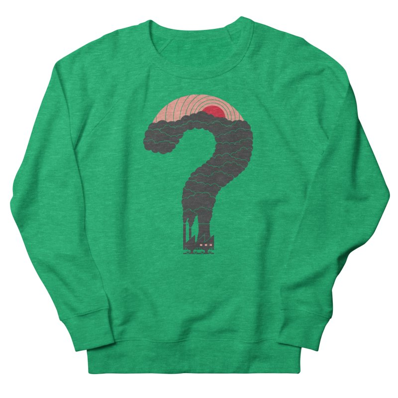 Why? Women's Sweatshirt by thepapercrane's shop