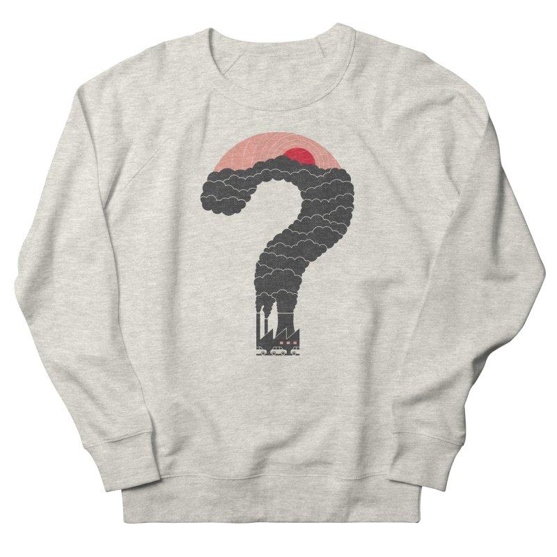 Why? Men's Sweatshirt by thepapercrane's shop