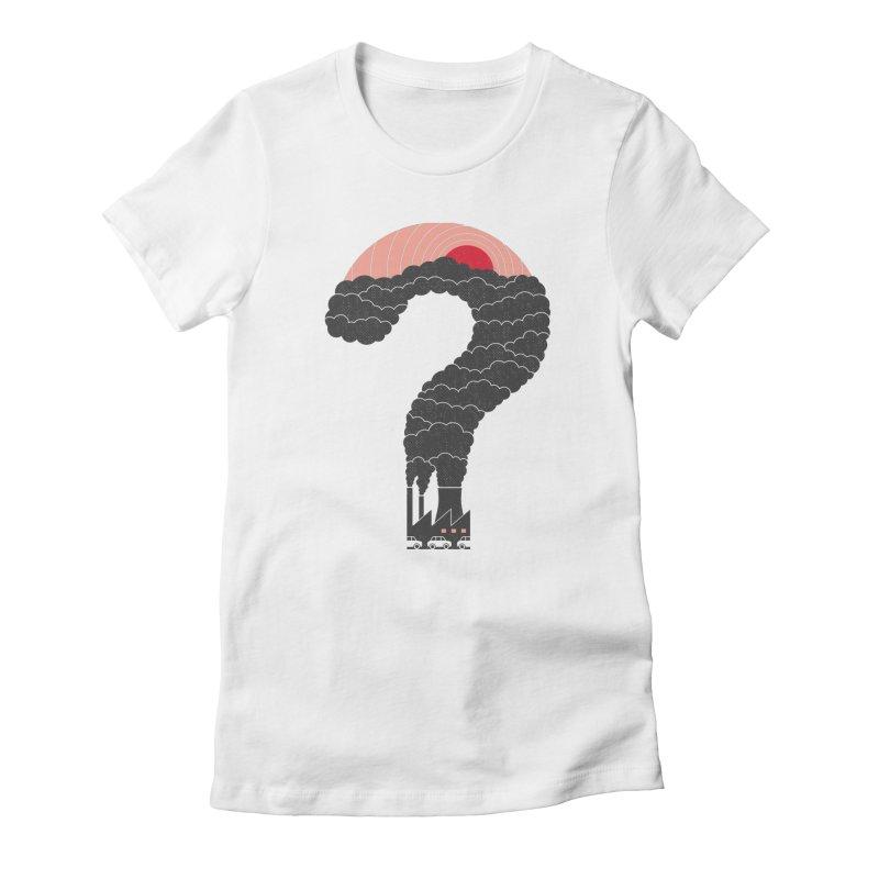 Why? Women's T-Shirt by thepapercrane's shop