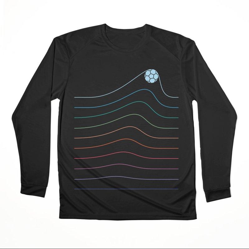 Goal Line Women's Longsleeve T-Shirt by thepapercrane's shop