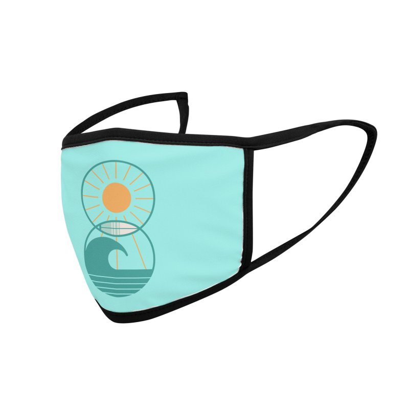 Sun Sea and Surf Accessories Face Mask by thepapercrane's shop