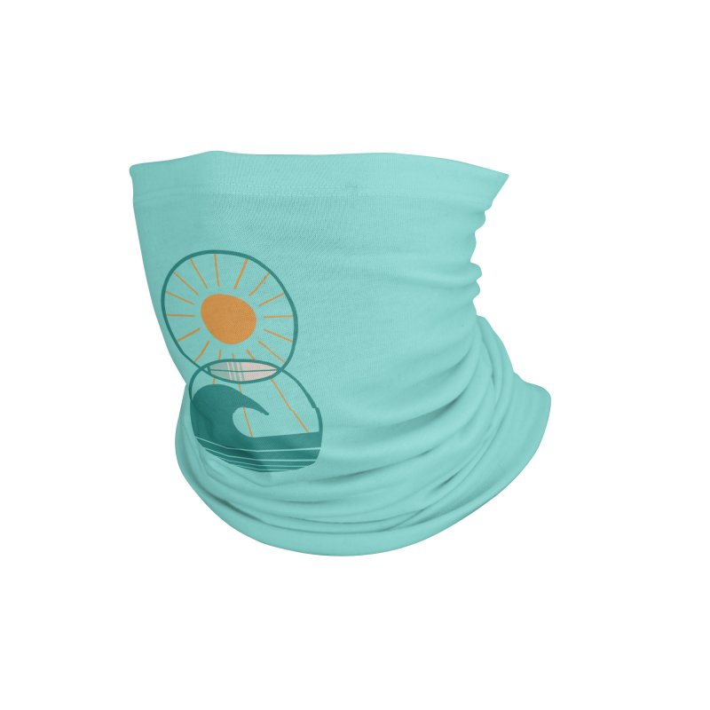 Sun Sea and Surf Accessories Neck Gaiter by thepapercrane's shop