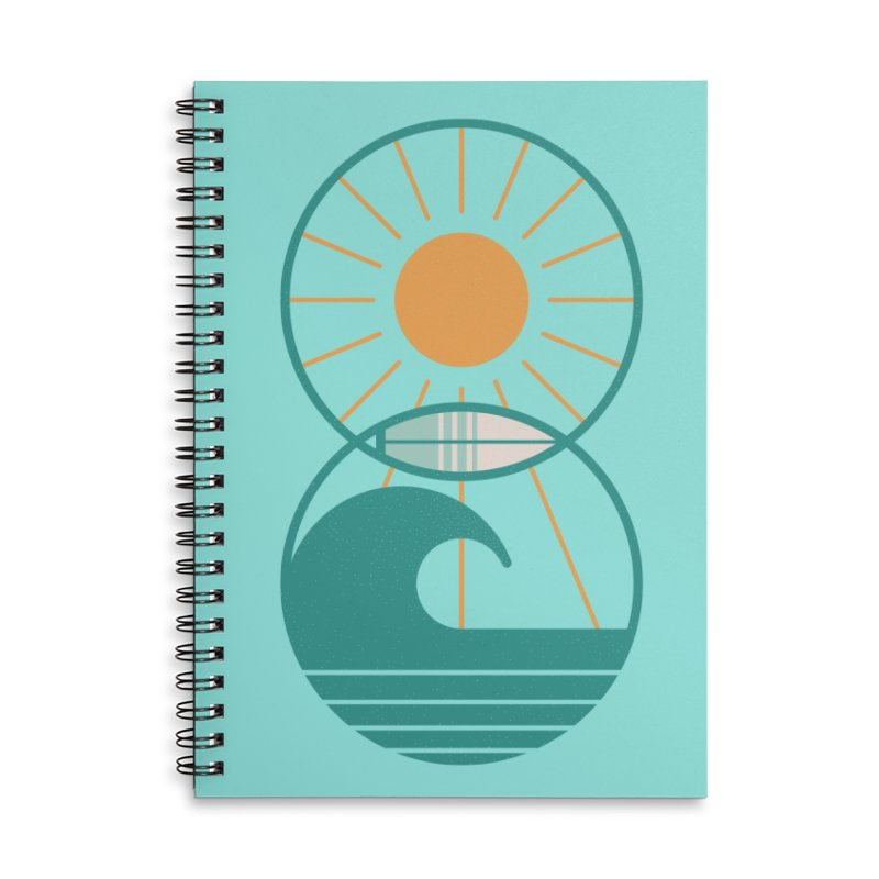 Sun Sea and Surf Accessories Notebook by thepapercrane's shop