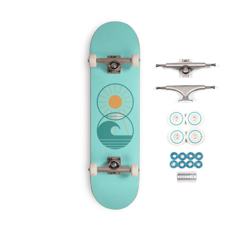 Sun Sea and Surf Accessories Skateboard by thepapercrane's shop