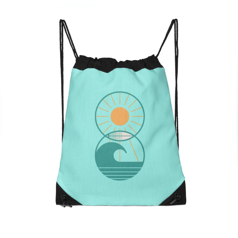 Sun Sea and Surf Accessories Bag by thepapercrane's shop