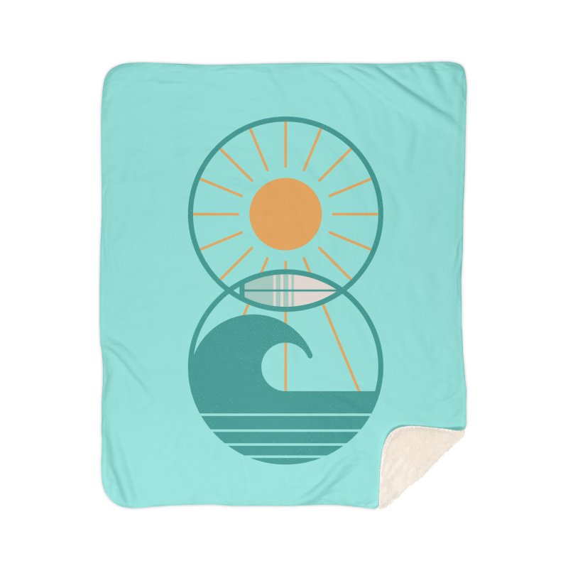 Sun Sea and Surf Home Blanket by thepapercrane's shop