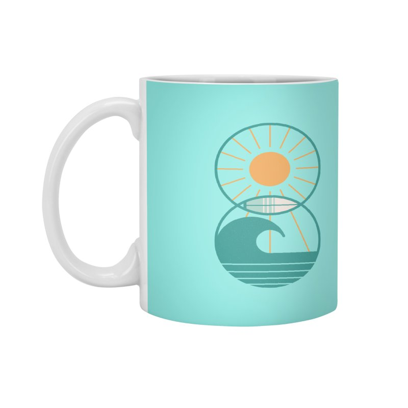 Sun Sea and Surf Accessories Mug by thepapercrane's shop