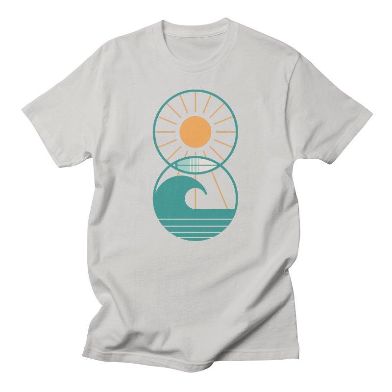 Sun Sea and Surf Men's T-Shirt by thepapercrane's shop